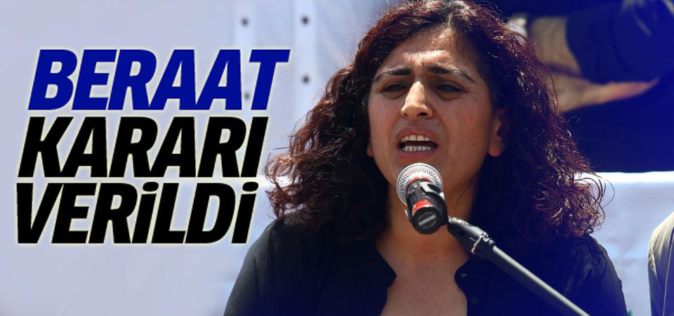 Sebahat Tuncel için beraat kararı
