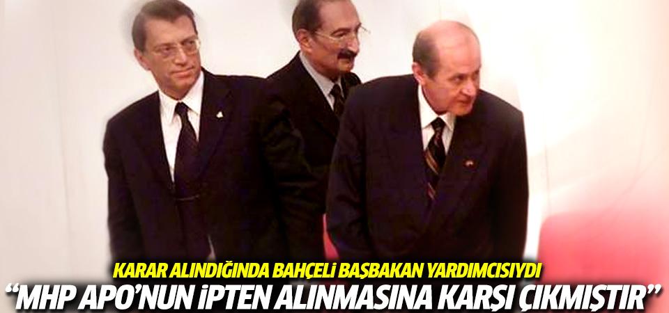 MHP Öcalan'ı idamdan kuratan o operasyona karşıydı
