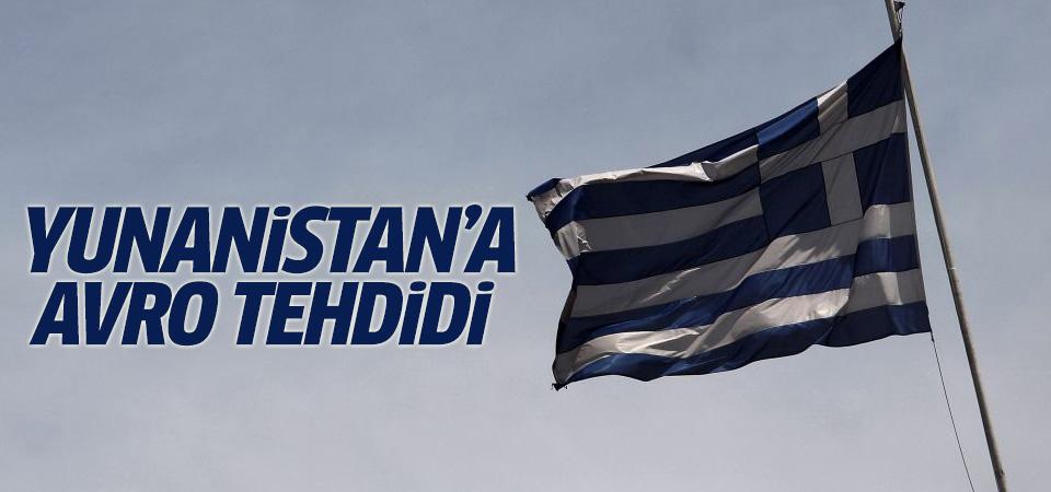 'Yunanistan'ın avrodan çıkışı senaryosunu yok sayamayız'