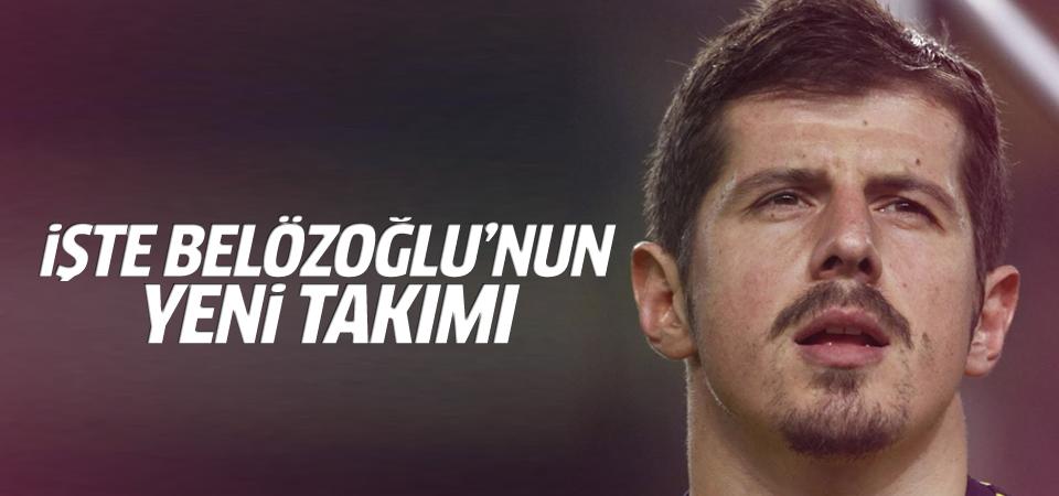 Emre Belözoğlu'nun yeni takımı