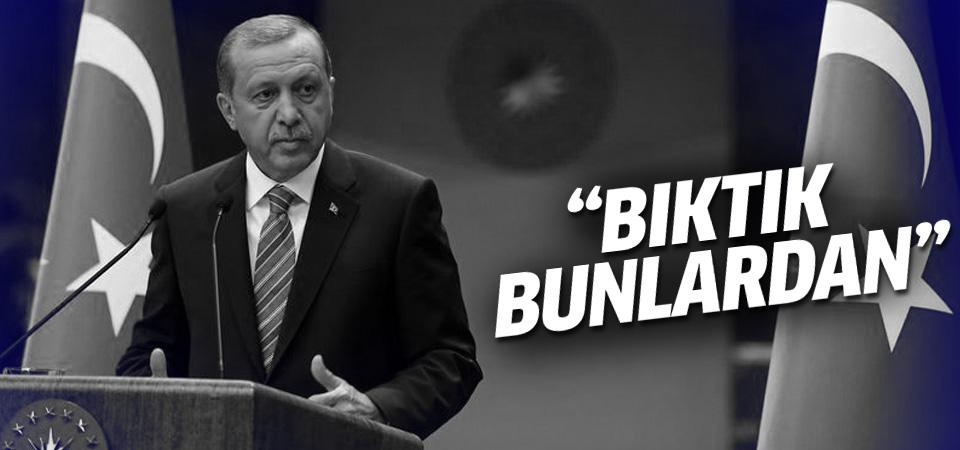 Cumhurbaşkanı Erdoğan iftar programında konuştu