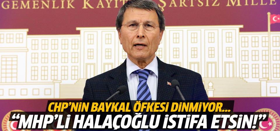 Özgür Özel'den MHP'li Halaçoğlu'na Baykal tepkisi
