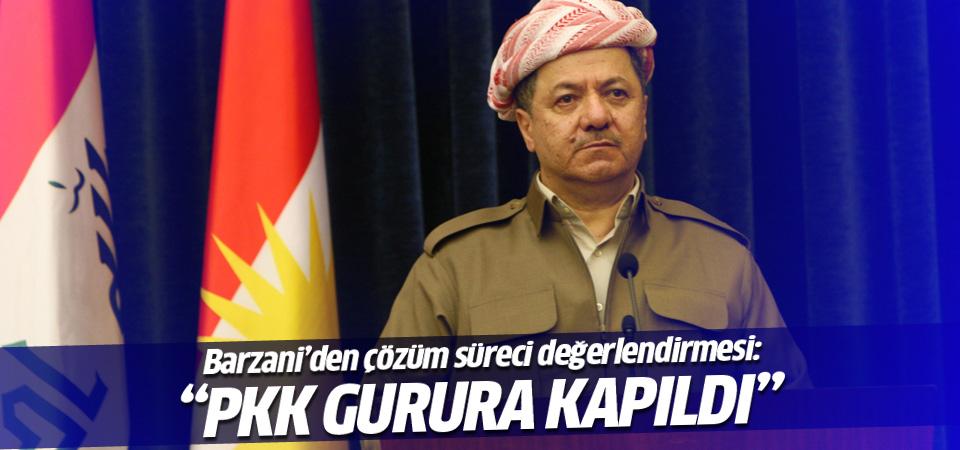 Mesut Barzani: PKK gurura kapıldı