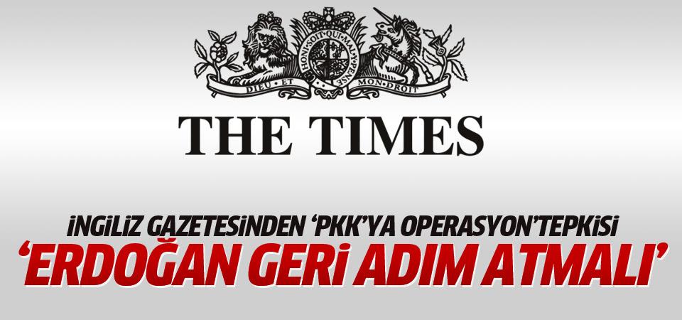 Times'tan 'PKK'ya operasyon' tepkisi