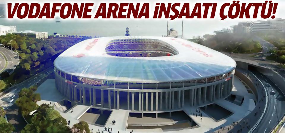 Vodafone Arena inşaatı çöktü!