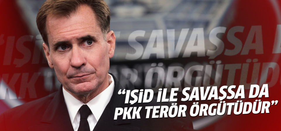 'IŞİD ile savaşsa da PKK bir terör örgütüdür