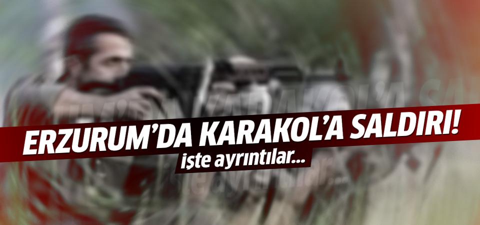 Erzurum'da Tekman 'de karakola saldırı: 3 terörist öldürüldü