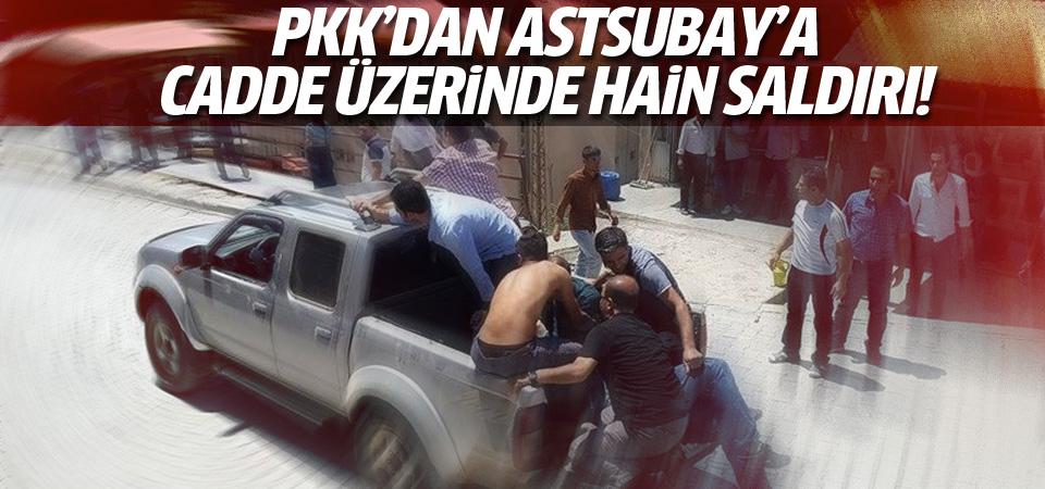 PKK'dan Şemdinli'de Astsubay'a hain saldırı!