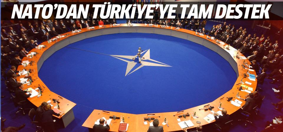 NATO'dan Türkiye'ye tam destek