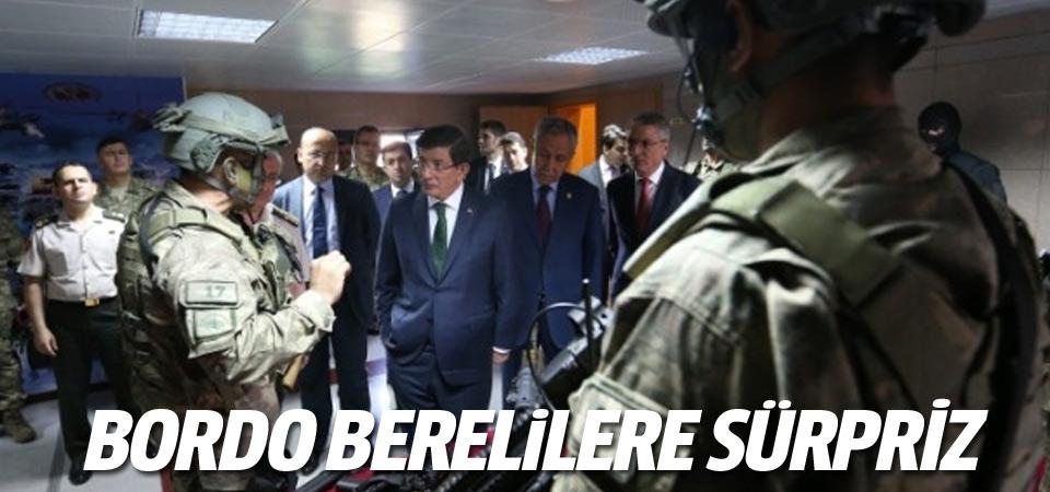 Başbakandan'Bordo Bereliler'e ziyaret