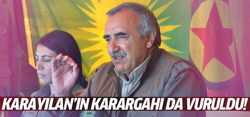 Murat Karayılan'ın karargahı da vuruldu!