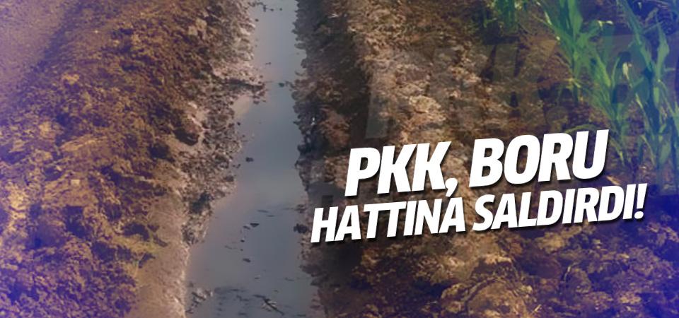 Kerkük-Yumurtalık petrol boru hattına saldırı