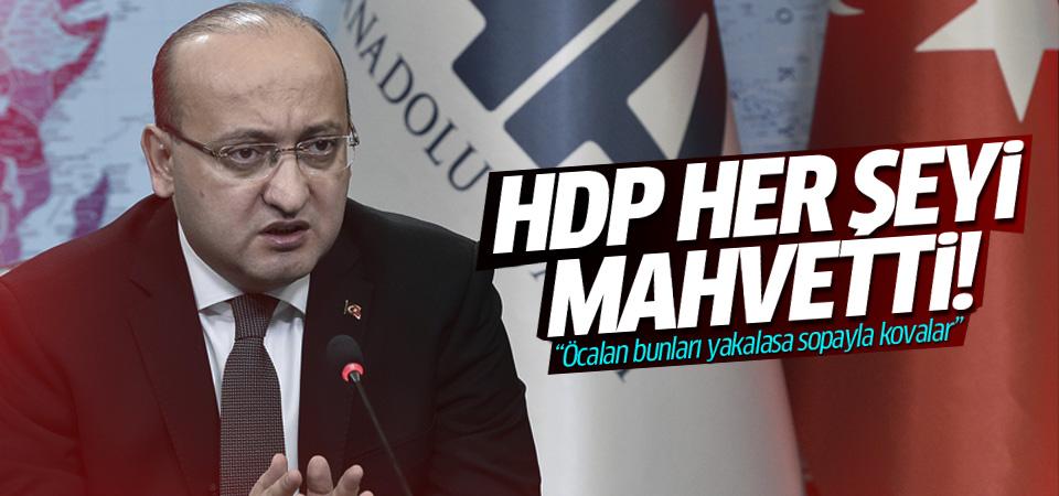 Akdoğan: Öcalan bunları yakalasa sopayla kovalar