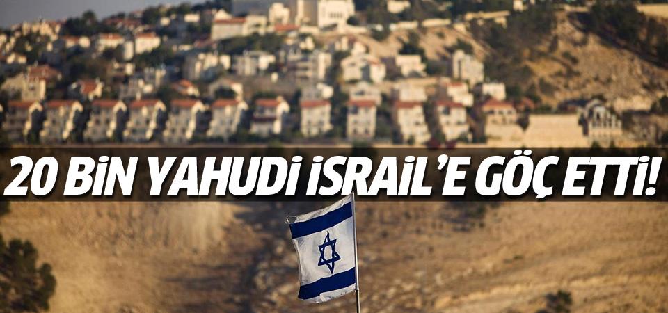 Fransa'dan 20 bin Yahudi İsrail'e göç etti