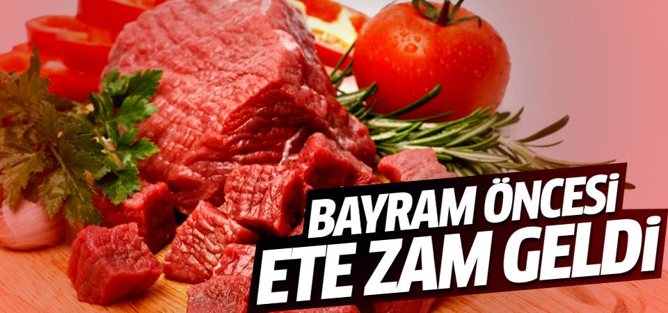 Kurban Bayramı öncesi et fiyatları arttı