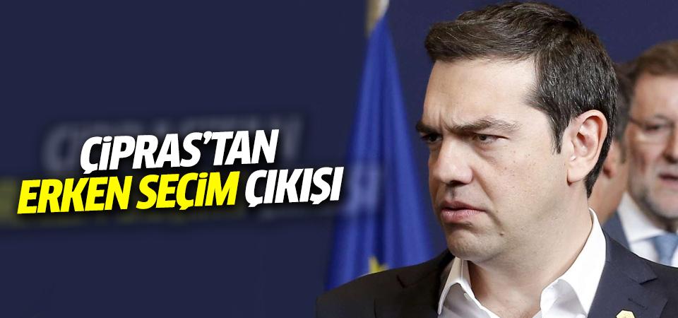 Çipras'tan erken seçim açıklaması