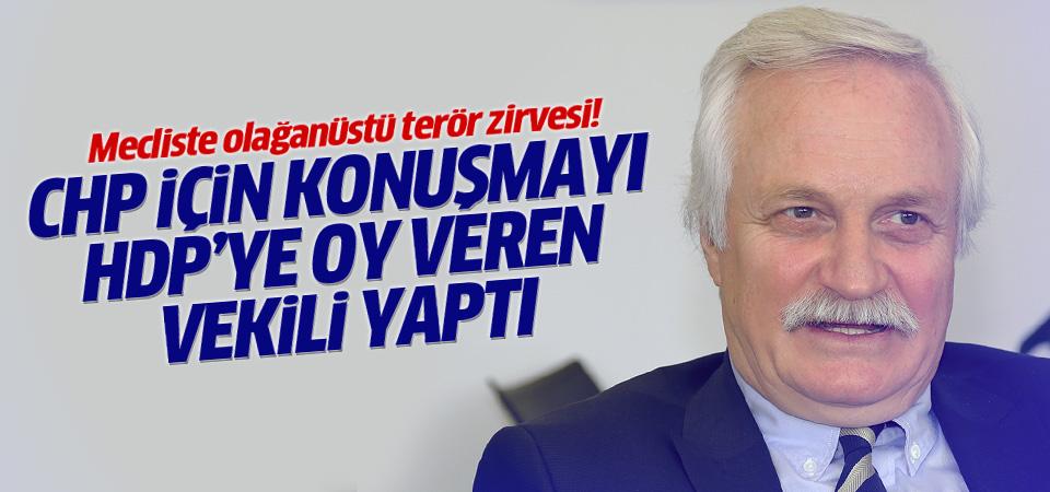 CHP adına HDP'ye oy veren vekili Özçelik konuştu