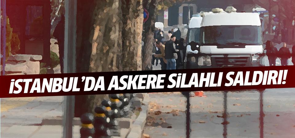 İstanbul'da askere silahlı saldırı
