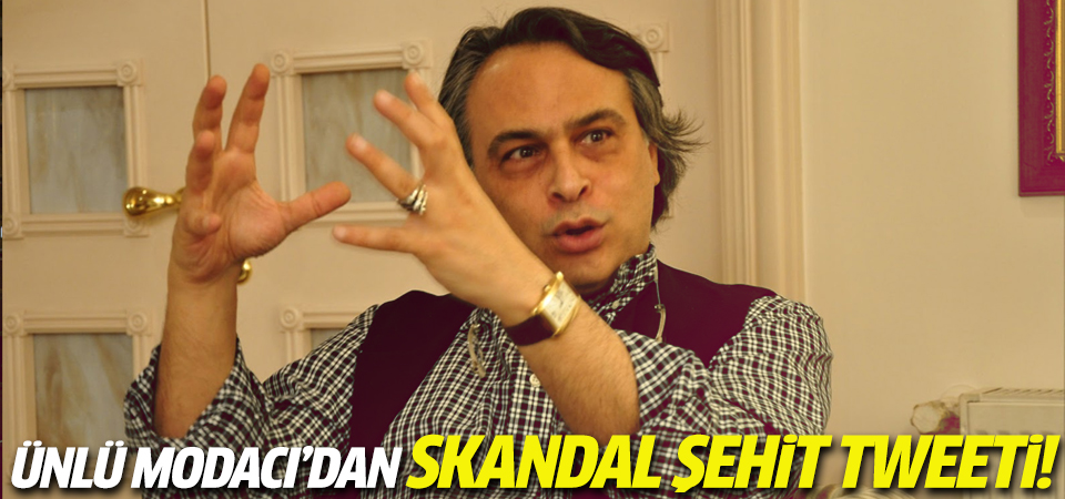 Barbaros Şansal'dan skandal şehit tweeti