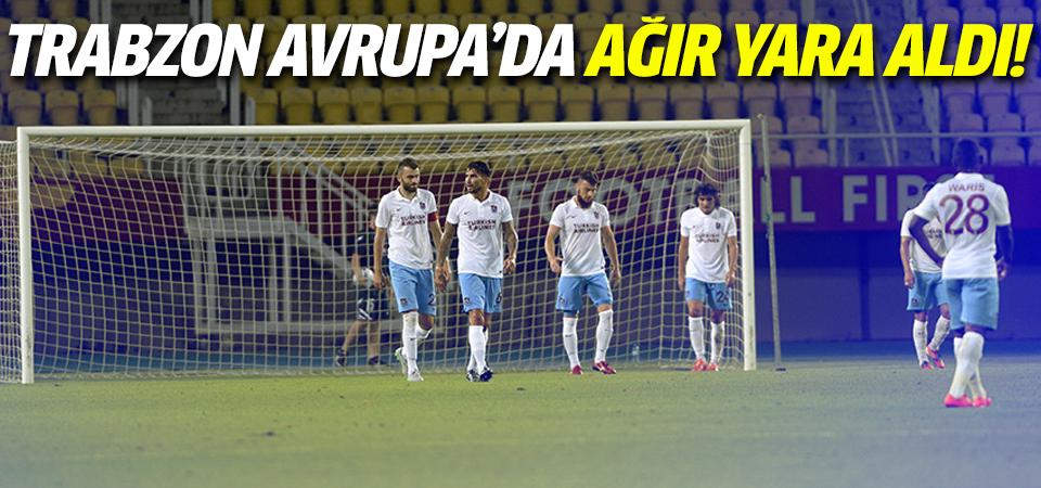 Rabotnicki - Trabzonspor maç sonucu
