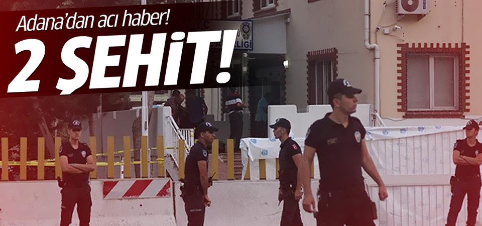Adana'da polise saldırı: 2 şehit!