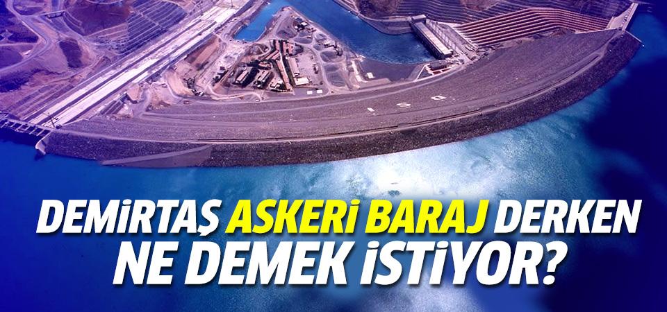 HDP'nin 'askeri baraj' yalanı