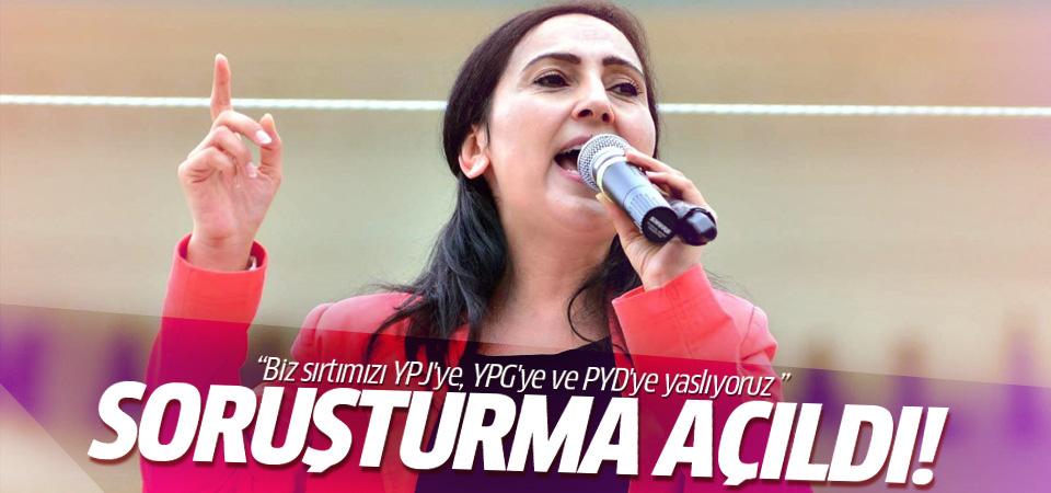 Figen Yüksekdağ'a soruşturma açıldı!