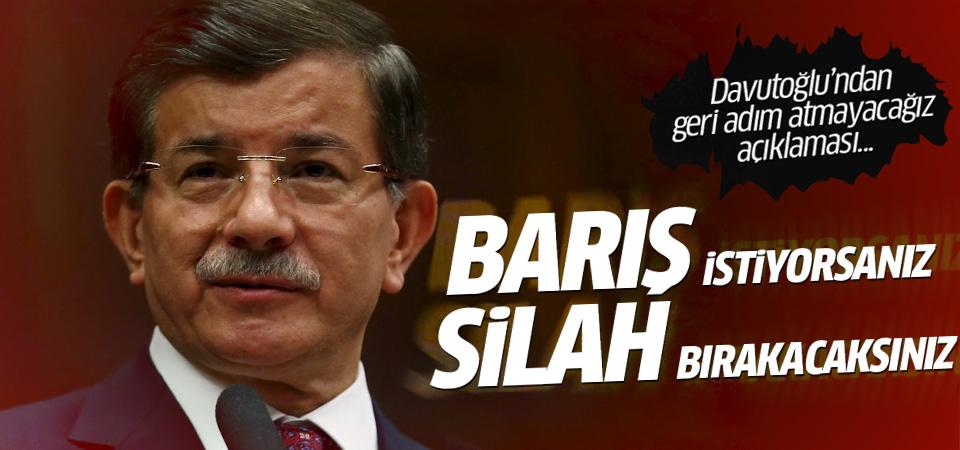 Ankara'dan Kandil'e çözüm süreci mesajı
