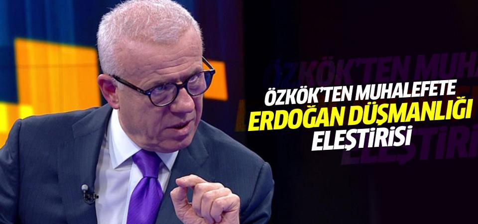 Ertuğrul Özkök'ten muhalefete Erdoğan eleştirisi