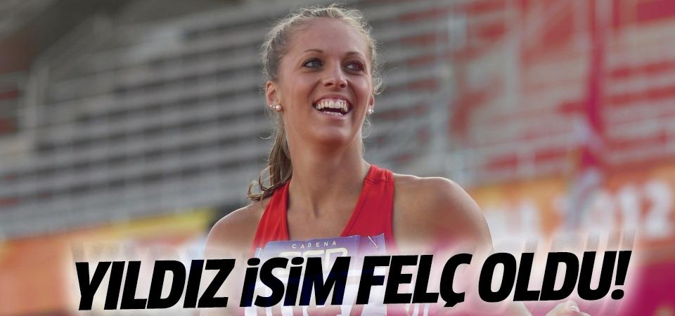 Rekortmen atlet Grünberg felç oldu