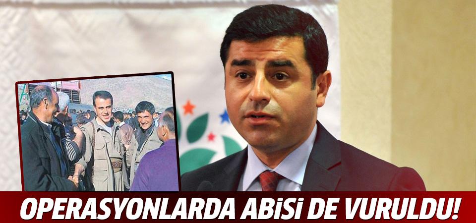 Operasyonlarda Demirtaş'ın abisi de yaralandı