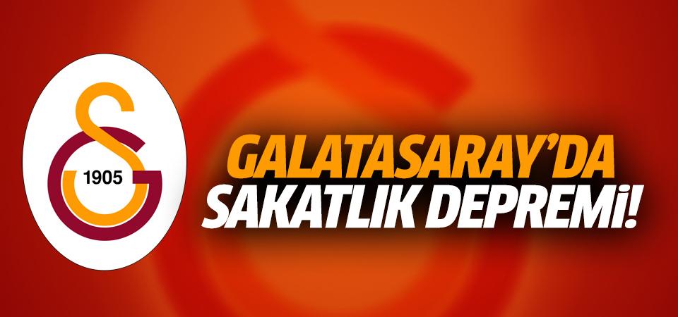Galatasaray'da sakatlık depremi!