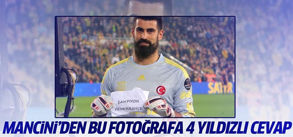 Mancini'den Fenerbahçe'ye 4 yıldızlı cevap!