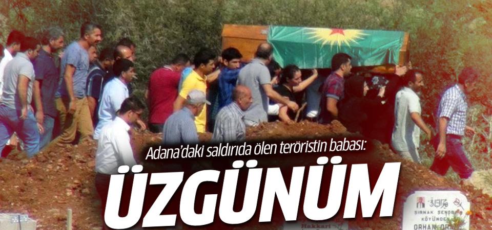 Adana'daki saldırıda ölen teröristin babası konuştu