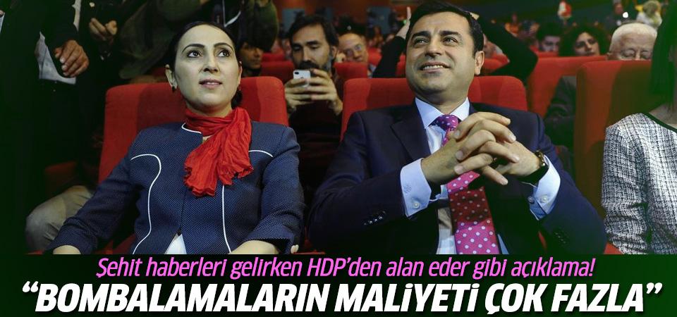 HDP Parti Meclisi'nden bombalama açıklaması