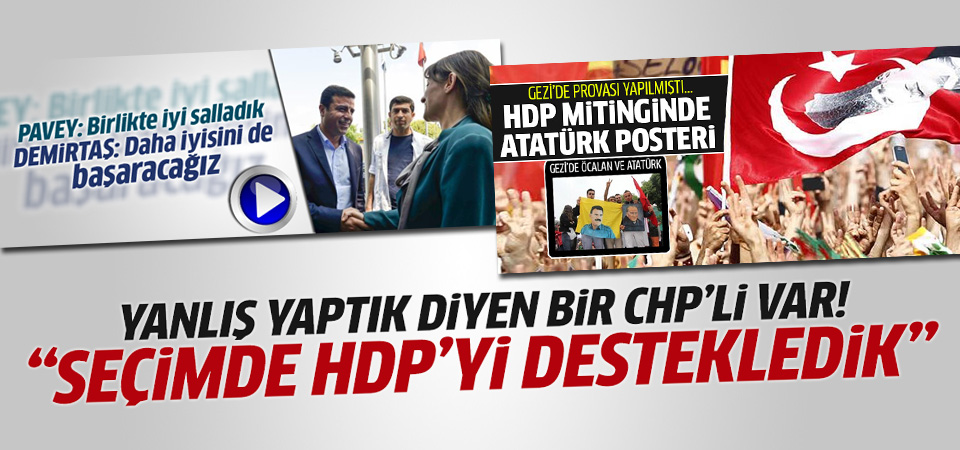 CHP'li Osman Gürün: HDP'ye destek stratejik bir hataydı