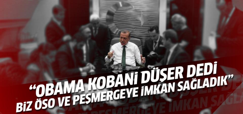 Erdoğan: Obama Kobani düşer dedi biz destek gönderdik