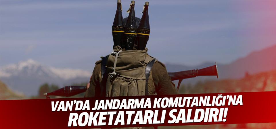 PKK Van İl Jandarma Komutanlığı'na roketle saldırdı
