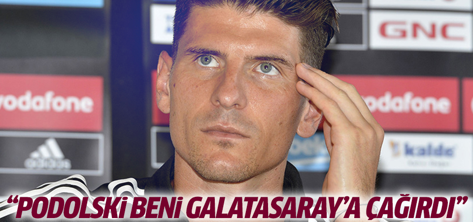 Podolski beni Galatasaray'a çağırdı