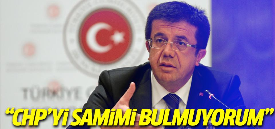 Zeybekçi: CHP'yi samimiyetsiz buluyorum