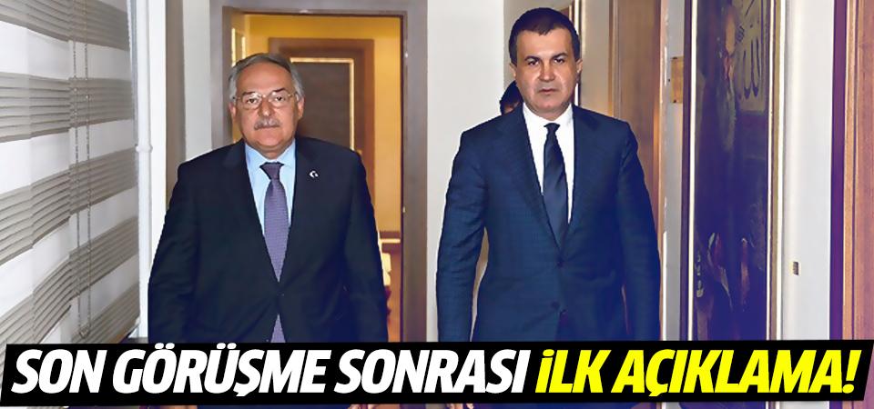 AK Parti-CHP son görüşmesi sonrası ilk açıklama!