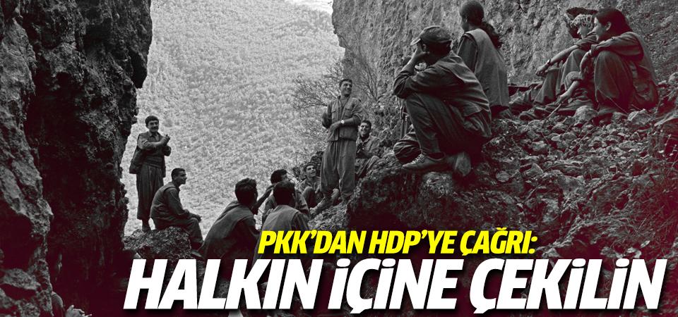 PKK'dan HDP'ye çağrı!