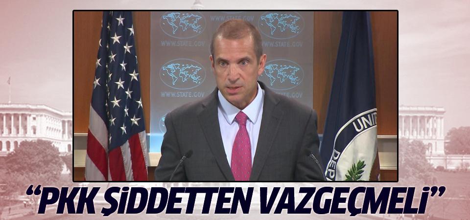 ABD: PKK şiddetten vazgeçmeli