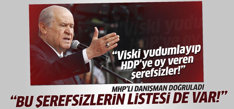 MHP'li Metin Özkan: 3 bin kişilik şerefsiz listesi var