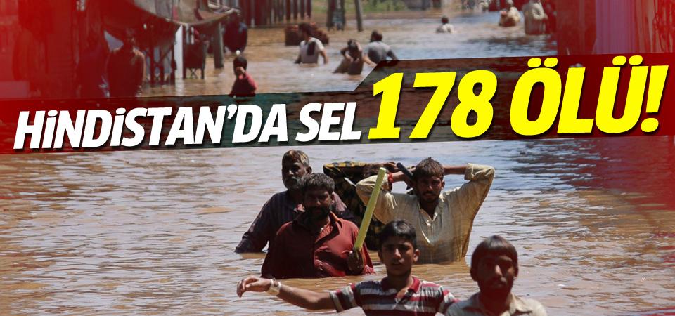 Hindistan'da aşırı yağışlar 178 can aldı