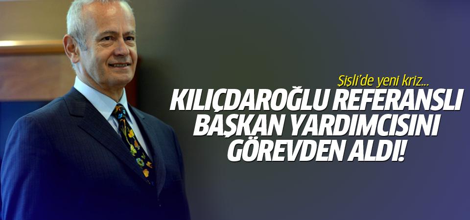 İnönü Kılıçdaroğlu referanslı başkan yardımcısını kovdu!