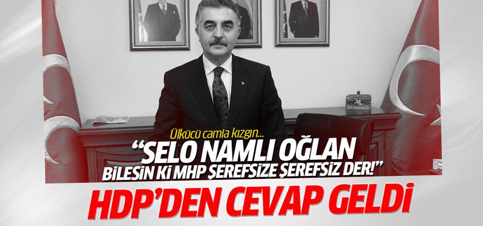 Yüksekdağ'dan MHP'ye 'Selo namlı oğlan' cevabı