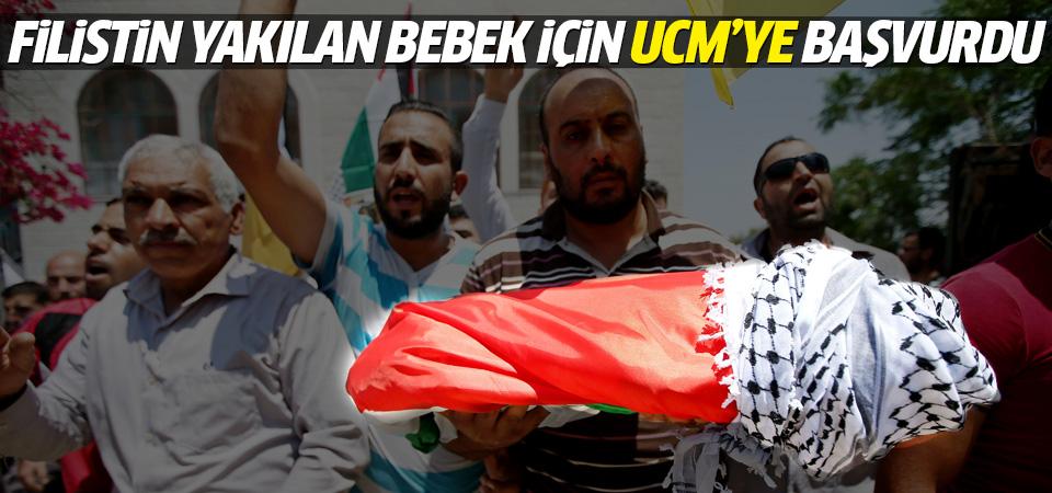 Filistin'in yakılan bebek için tepkisi