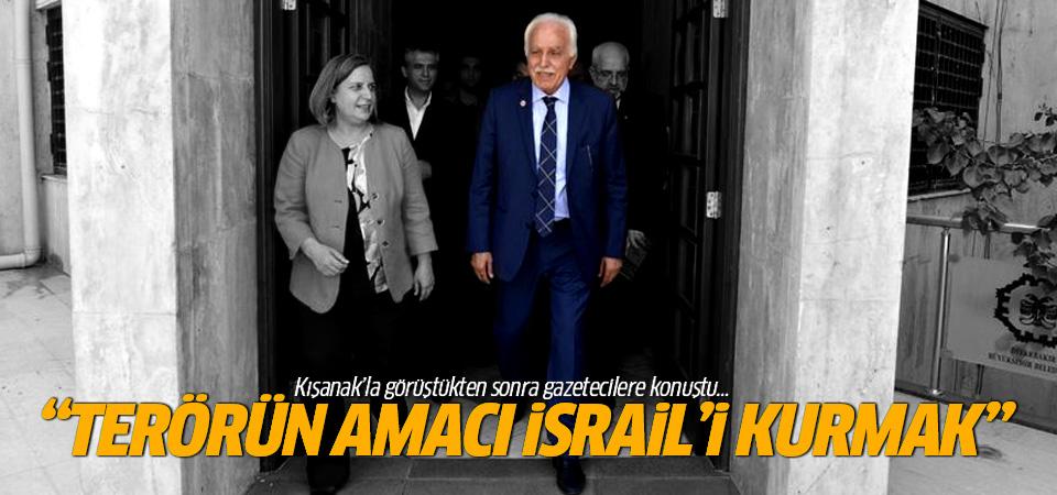 Kamalak: Amaç büyük İsrail'i kurmak