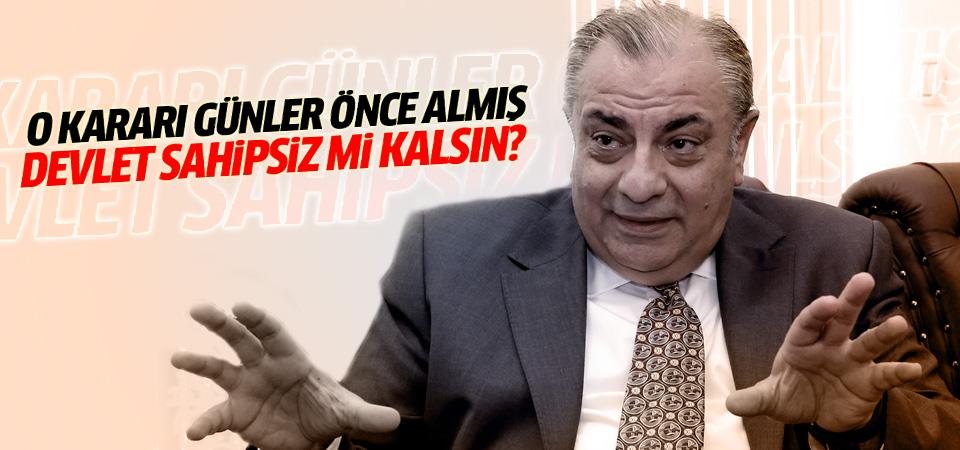 Tuğrul Türkeş o kararı günler öncesinde almış!